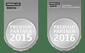 Wir sind auch in 2015 wieder für unsere exzellenten Kundenbewertungen ausgezeichnet worden