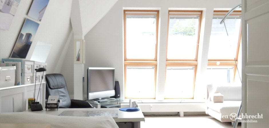 Eden-Ehbrecht Immobilien - Dachgeschosswohnung im Dobbenviertel