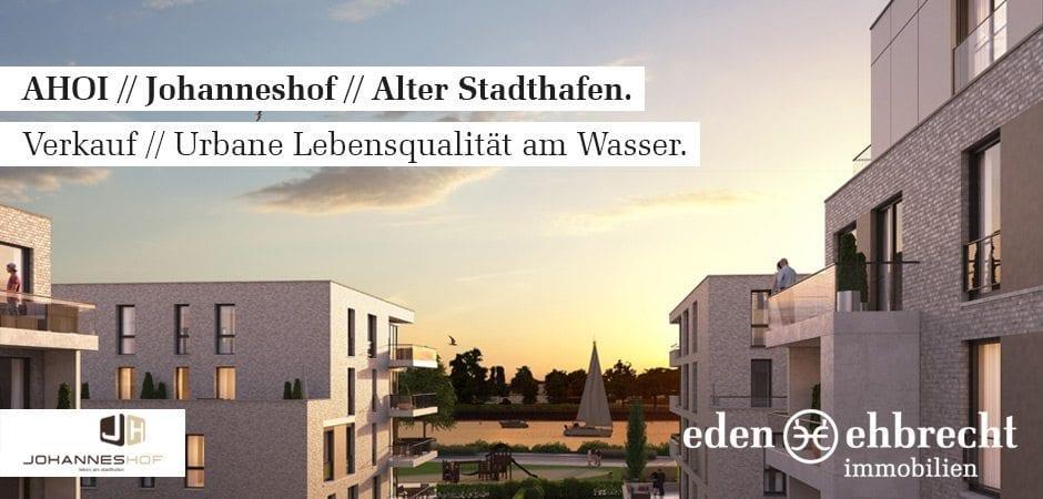 Johanneshof, Verkauf, Eigentumswohnungen, Oldenburg, Immobilienmakler, Makler, Oldenburg, Kaufen, Alter Stadthafen, Ahoi