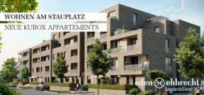 Immobilienmakler, Makler, Oldenburg, Immobilien, Exklusive Vermietung, Wohnen am Stauplatz, KUBOX Appartement, Provisionsfrei