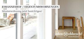 Johanneshof, Verkauf, Eigentumswohnungen, Kaufen, Oldenburg, Immobilienmakler, Makler, Alter Stadthafen, Musterwohnung