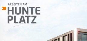 Hunteplatz, Arbeiten am Hunteplatz, Gewerbeflächen, Büro, Praxis, Laden, Gastro, Kaufen, Mieten, Immobilienmakler, Makler, Oldenburg, Alter Stadthafen, Citylage, Wasserlage
