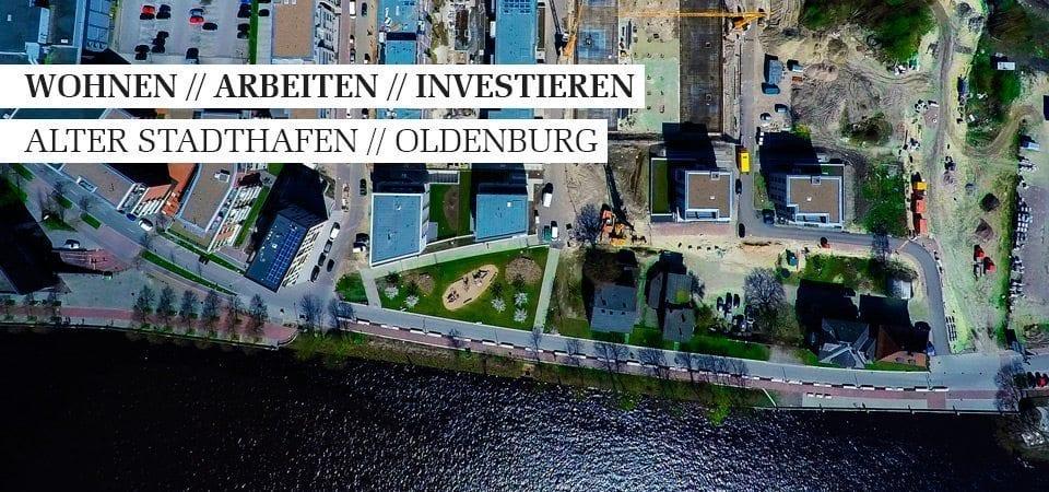 Wohnen, Arbeiten, Investieren am Alten Stadthafen Oldenburg