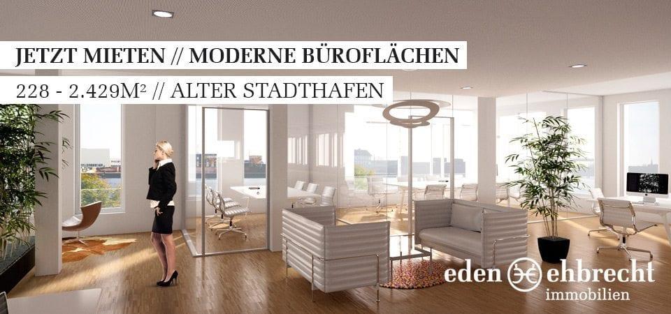 Hunteplatz, Arbeiten am Hunteplatz, Gewerbeflächen, Büro, Praxis, Kaufen, Mieten, Immobilienmakler, Makler, Oldenburg, Alter Stadthafen, Citylage, Wasserlage