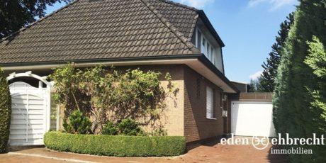 Verkauft, Referenzen, Immobilienmakler, Makler, Oldenburg, Einfamilienhaus, EFH, Garten