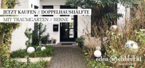 Immobilienmakler, Makler, Oldenburg, Berne, Wesermarsch, Doppelhaushälfte, DHH, Doppelhaus, Haus Kaufen, Immobilie kaufen, Traumgarten, Wintergarten, JETZT KAUFEN, Kaufen, zu verkaufen