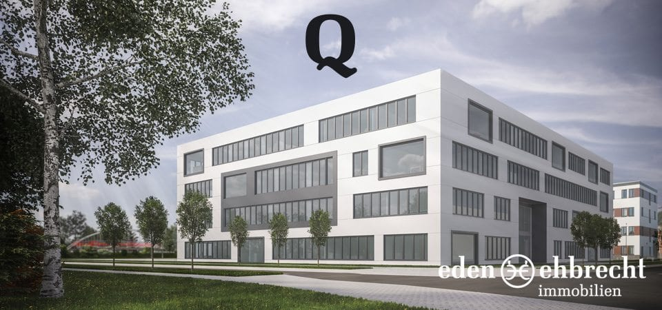 Immobilienmakler, Makler, Q, Projekt Q, TPO, Technologiepark Oldenburg, Büroflächen, Neubau, PZWO Architektur, Technologie und Gründerzentrum