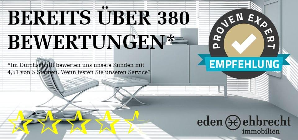 Immobilienmakler, Gewerbemakler, Oldenburg, über 380 Kundenbewertungen, Proven Expert, 4,51 von 5 Sternen