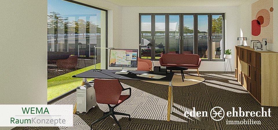 Eden-Ehbrecht Immobilien, Immobilienmakler, Neue Wege, WEMA Raumkonzepte, Büroausstattung, Bürofläche, Gewerbemakler, Technologiequartier