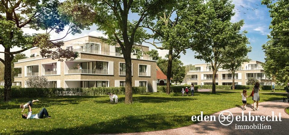Residenz Marienhude, Wohnen im Park, Hude, Eigentumswohnung, Neubau, Immobilien Kaufen, Wohnung Kaufen, Eden-Ehbrecht Immobilien, Immobilienmakler, Oldenburg