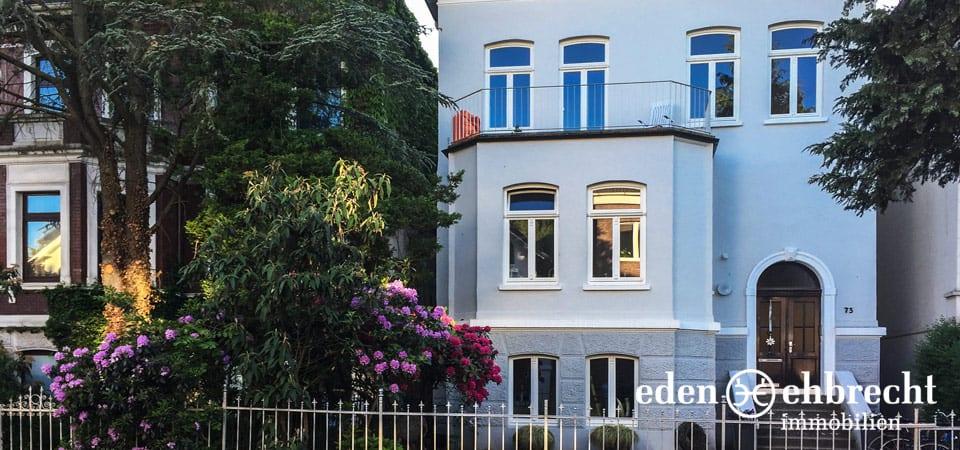 Immobilienmakler, Makler, Oldenburg, Stadtvilla, Stadt Villa, Ziegelhof Viertel, Sanierter Altbau, Jetzt Kaufen