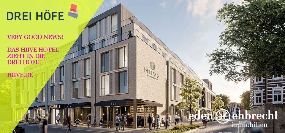 Hiive Experience Hotels eröffnet in den Drei Höfen