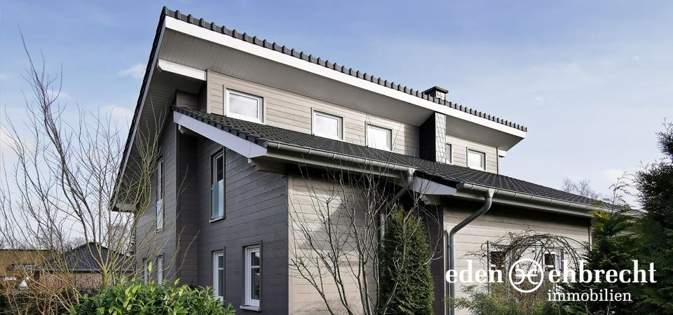 Verkauft, Pukltdach-Haus in moderner Holzrahmen-Bauweise, Rhauderfehn, Immobilienmakler